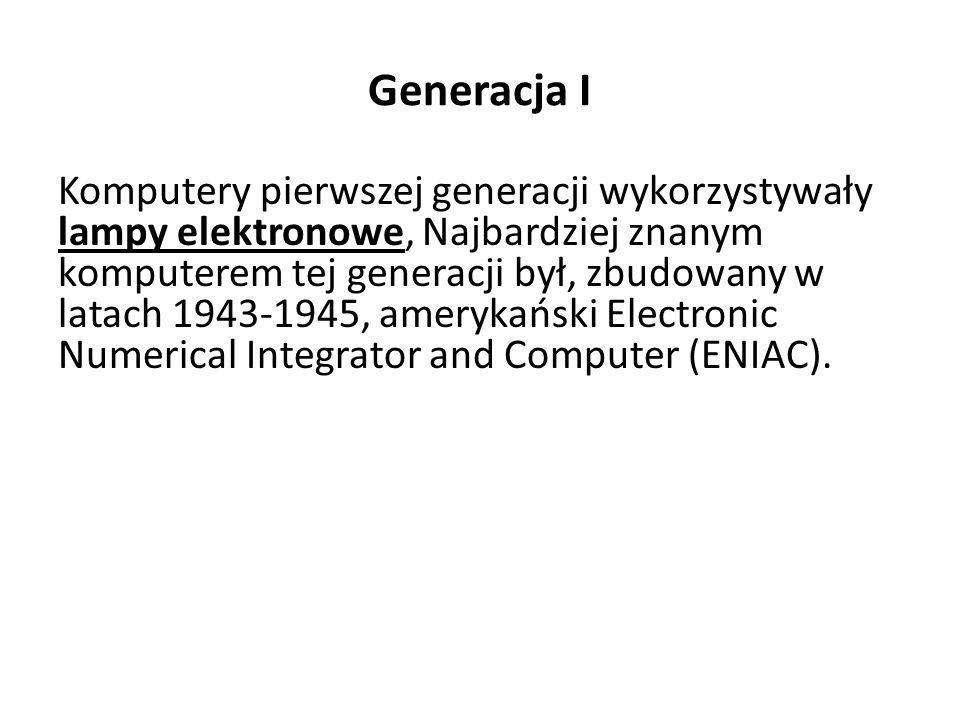 Generacja I