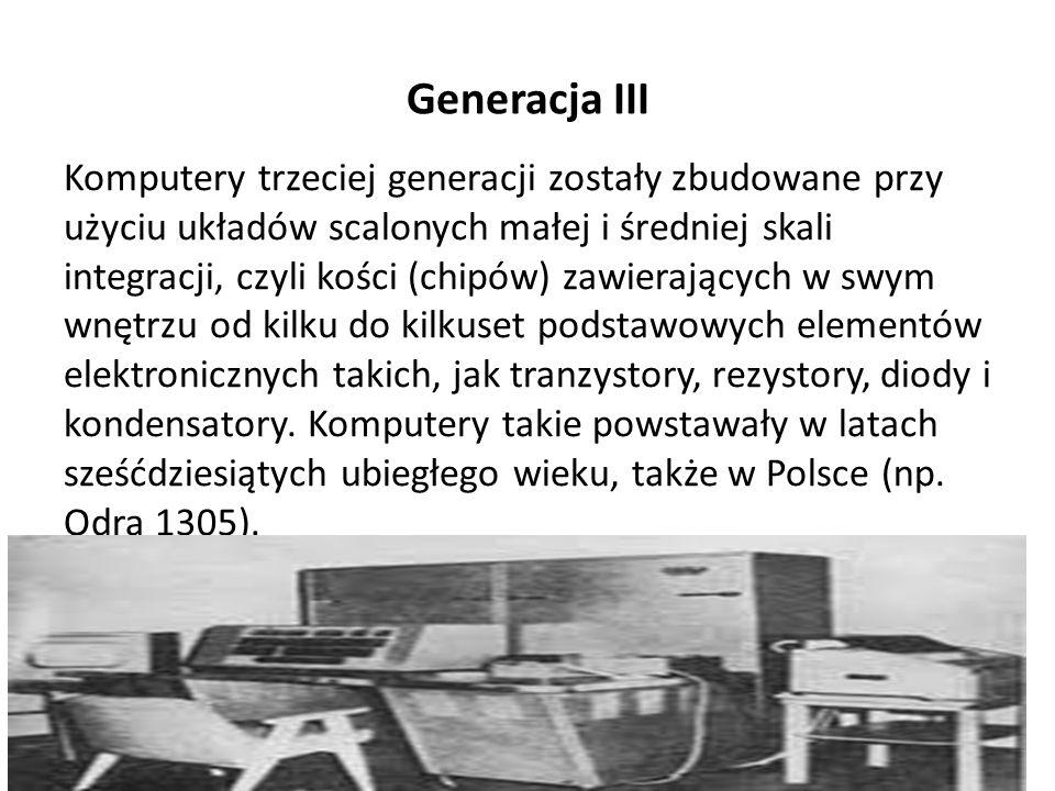 Generacja III