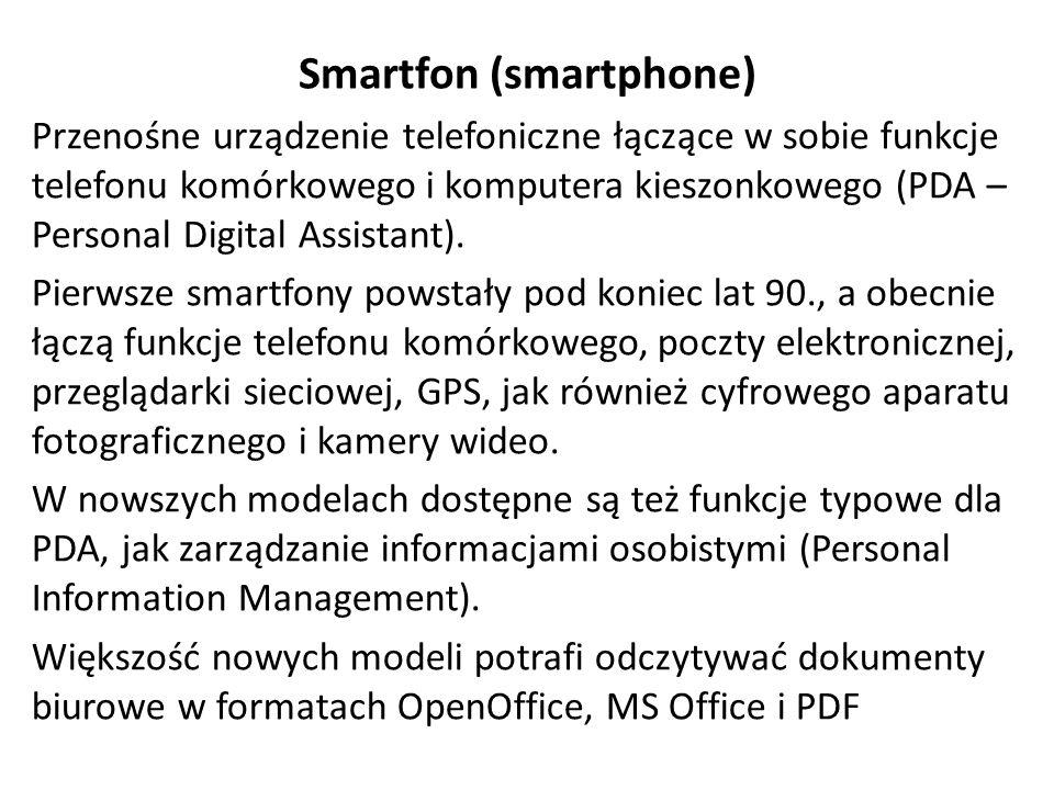 Smartfon (smartphone)