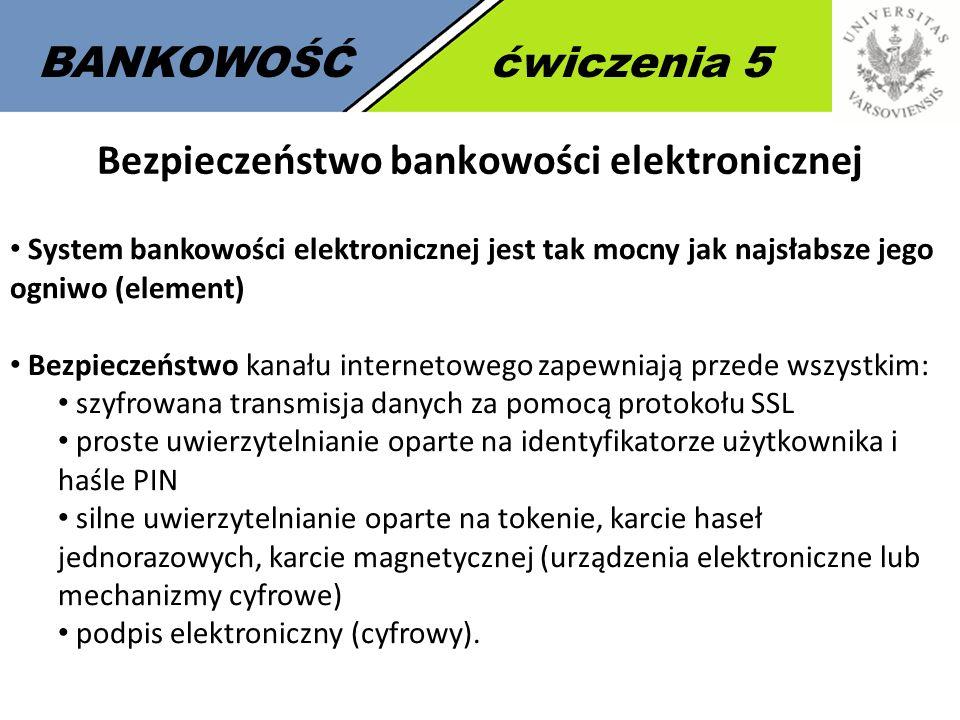 Bezpieczeństwo bankowości elektronicznej