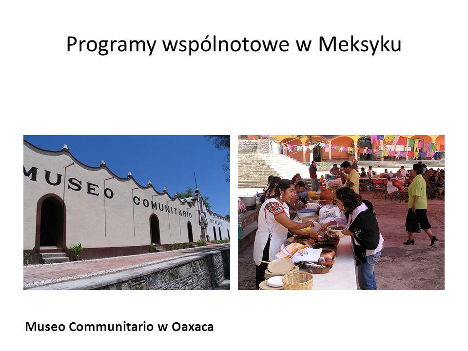 Programy wspólnotowe w Meksyku