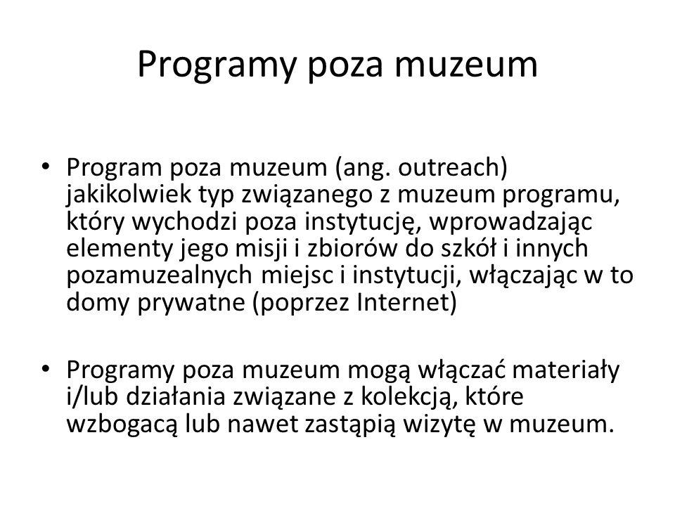 Programy poza muzeum