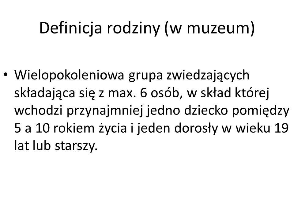 Definicja rodziny (w muzeum)