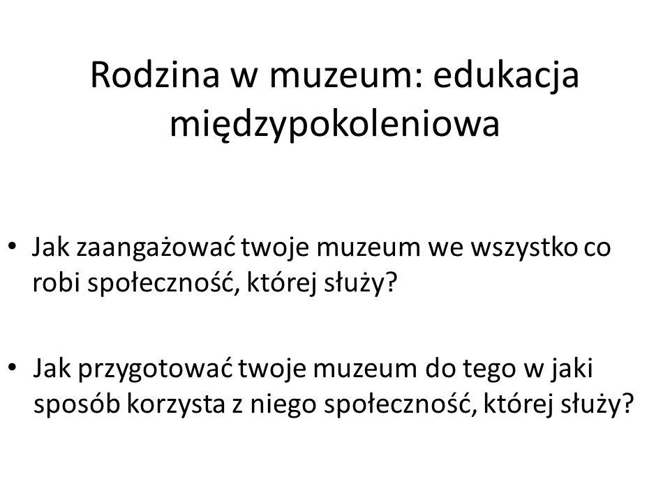 Rodzina w muzeum: edukacja międzypokoleniowa
