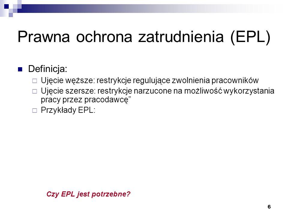 Prawna ochrona zatrudnienia (EPL)