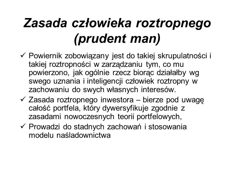 Zasada człowieka roztropnego (prudent man)