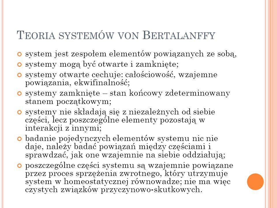 Teoria systemów von Bertalanffy