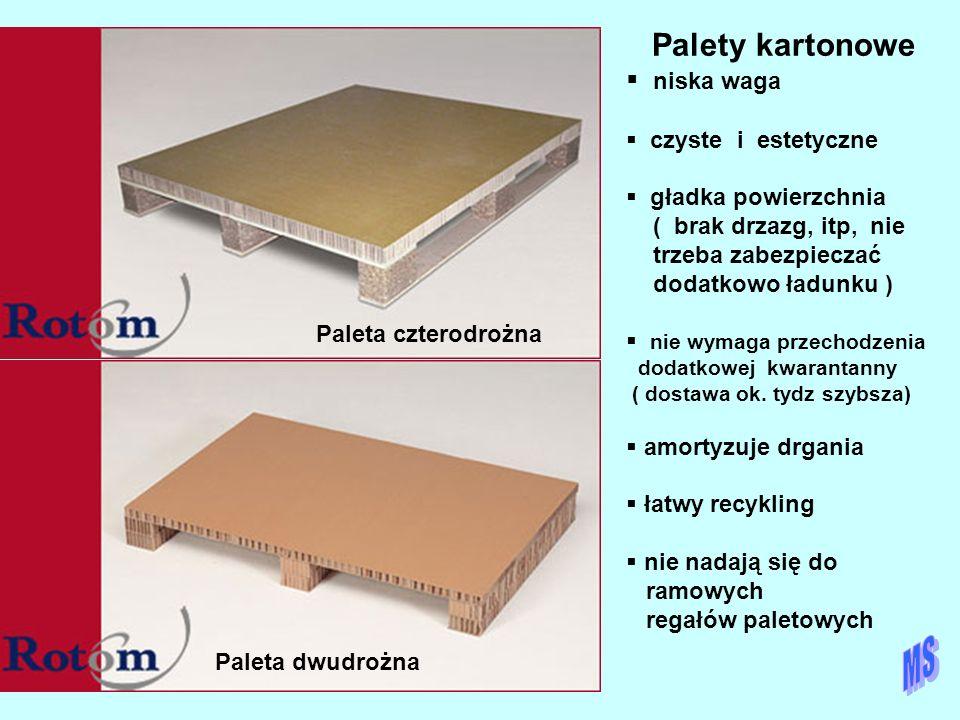 18032 Palety kartonowe niska waga czyste i estetyczne