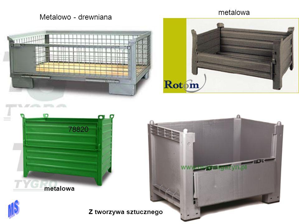 metalowa Metalowo - drewniana. 78820 metalowa.