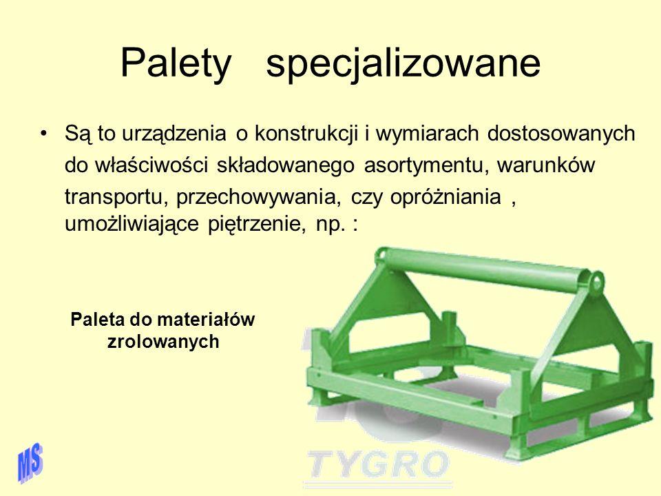 Palety specjalizowane