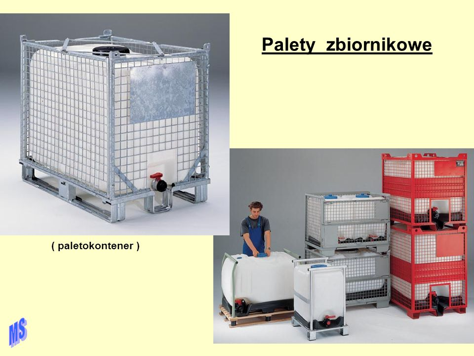 Palety zbiornikowe ( paletokontener ) MS
