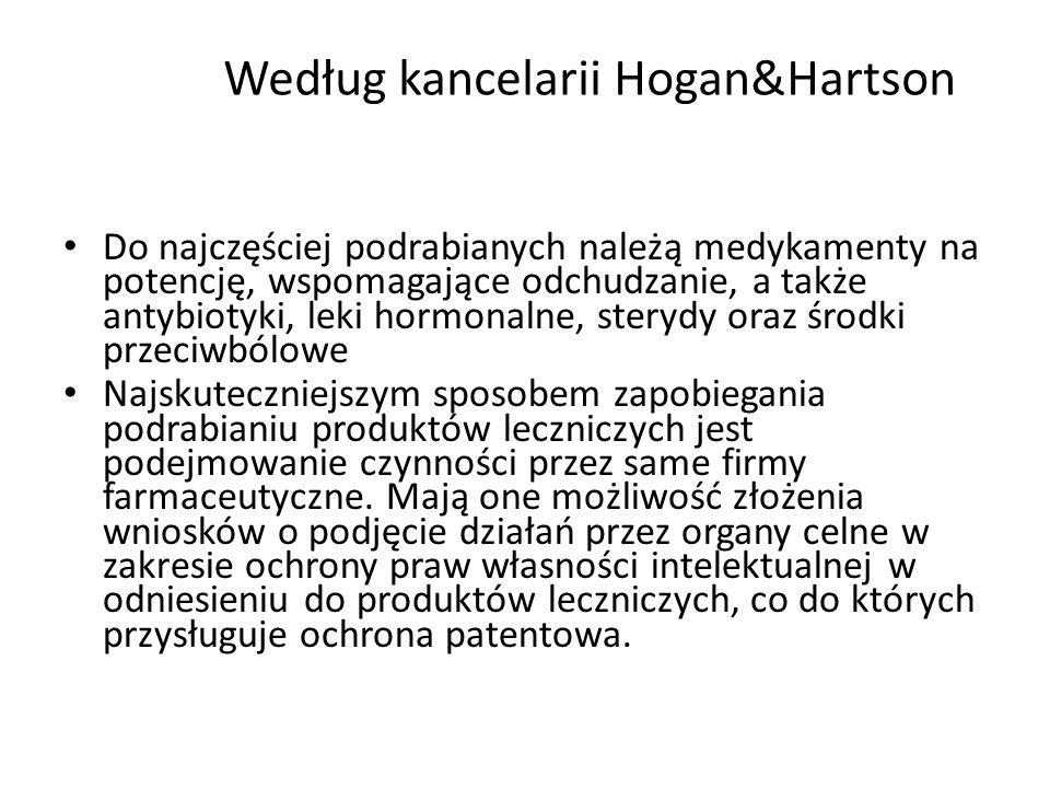 Według kancelarii Hogan&Hartson