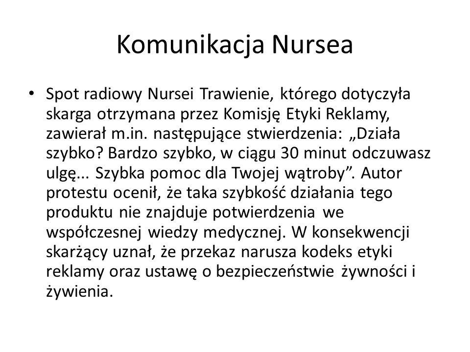 Komunikacja Nursea