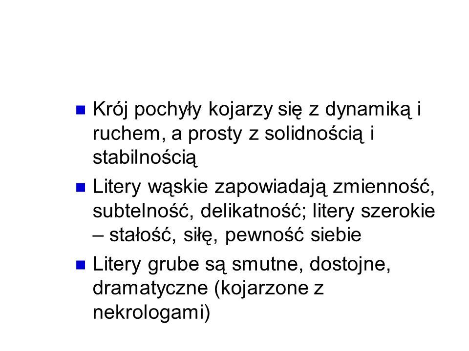 Psychologiczne właściwości rodzajów i stylów pisma