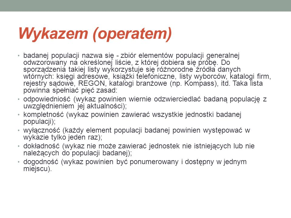 Wykazem (operatem)