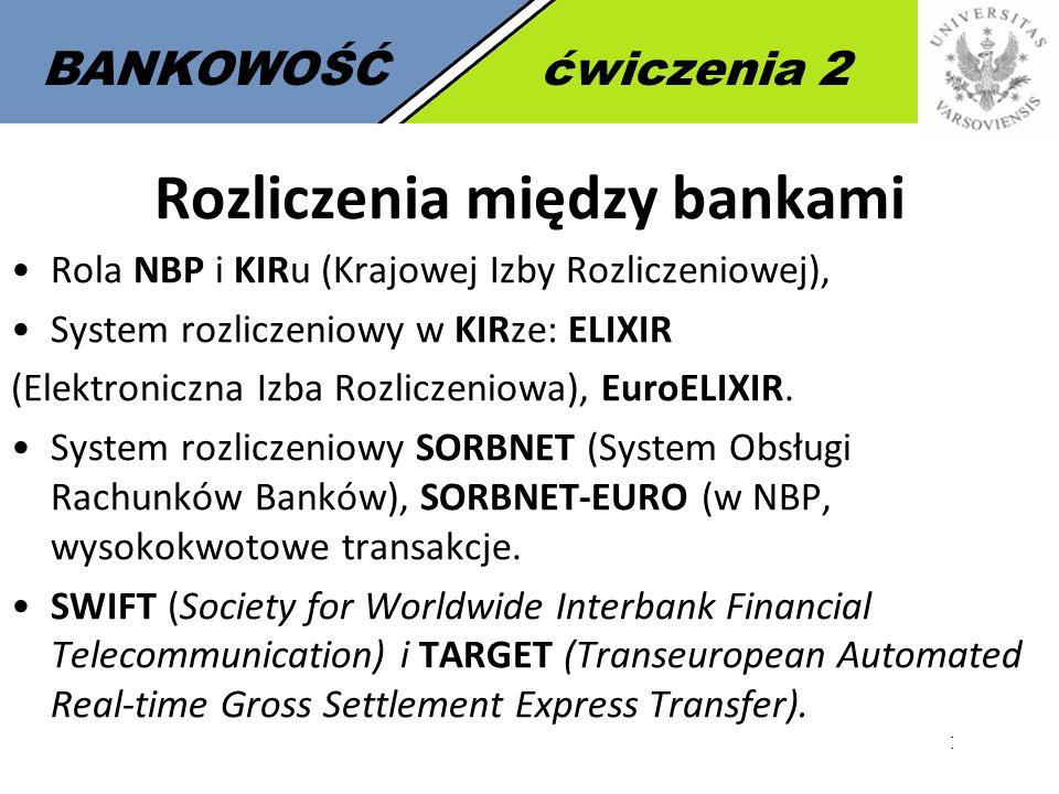 Rozliczenia między bankami