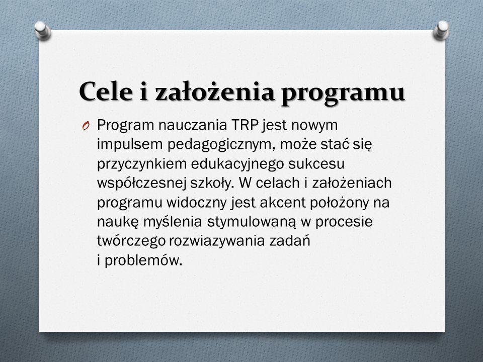 Cele i założenia programu