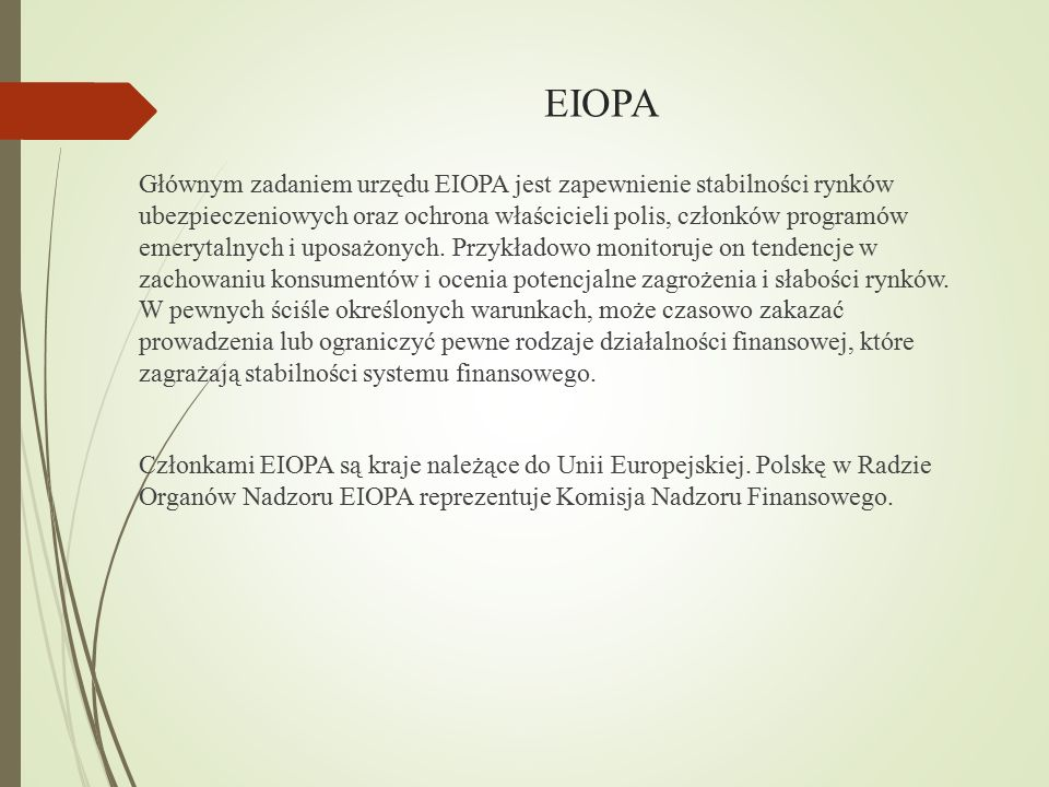 EIOPA