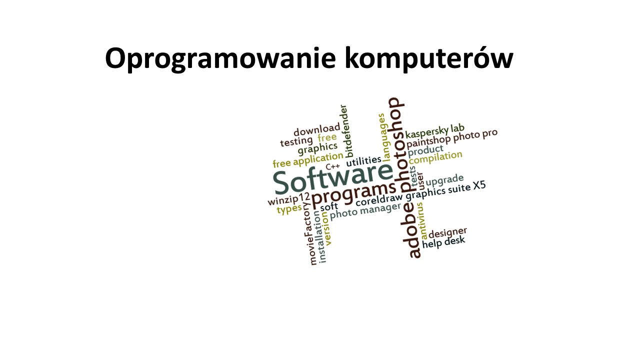 Oprogramowanie komputerów
