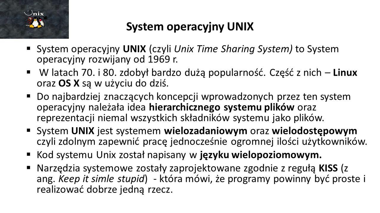 System operacyjny UNIX