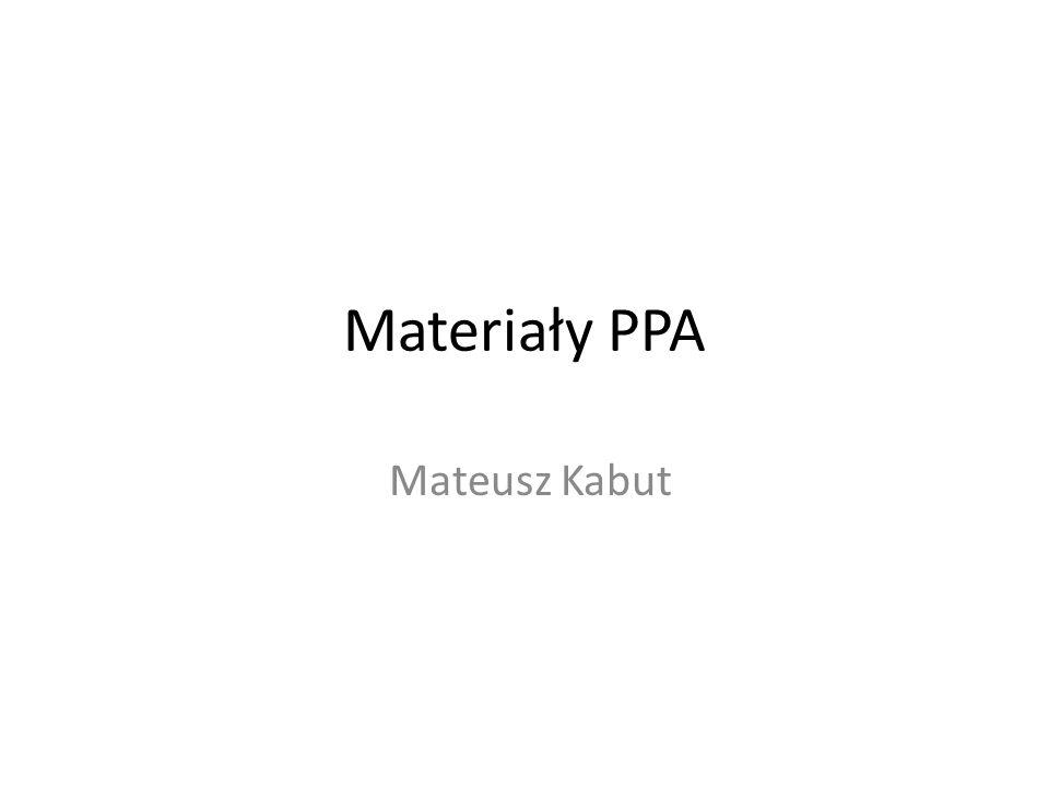 Materiały PPA Mateusz Kabut