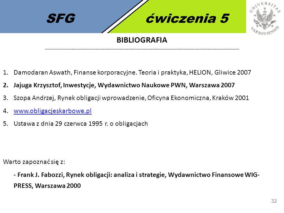 SFG ćwiczenia 5 bIbliografia