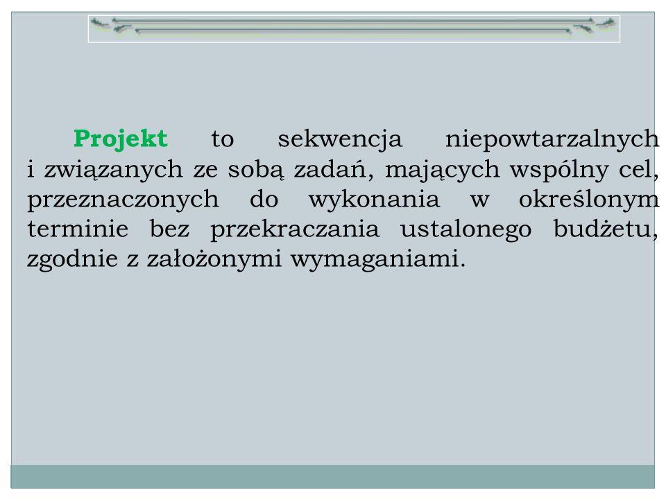 R.K. Wysocki, R.McGary, Efektywne zarządzanie projektami str.