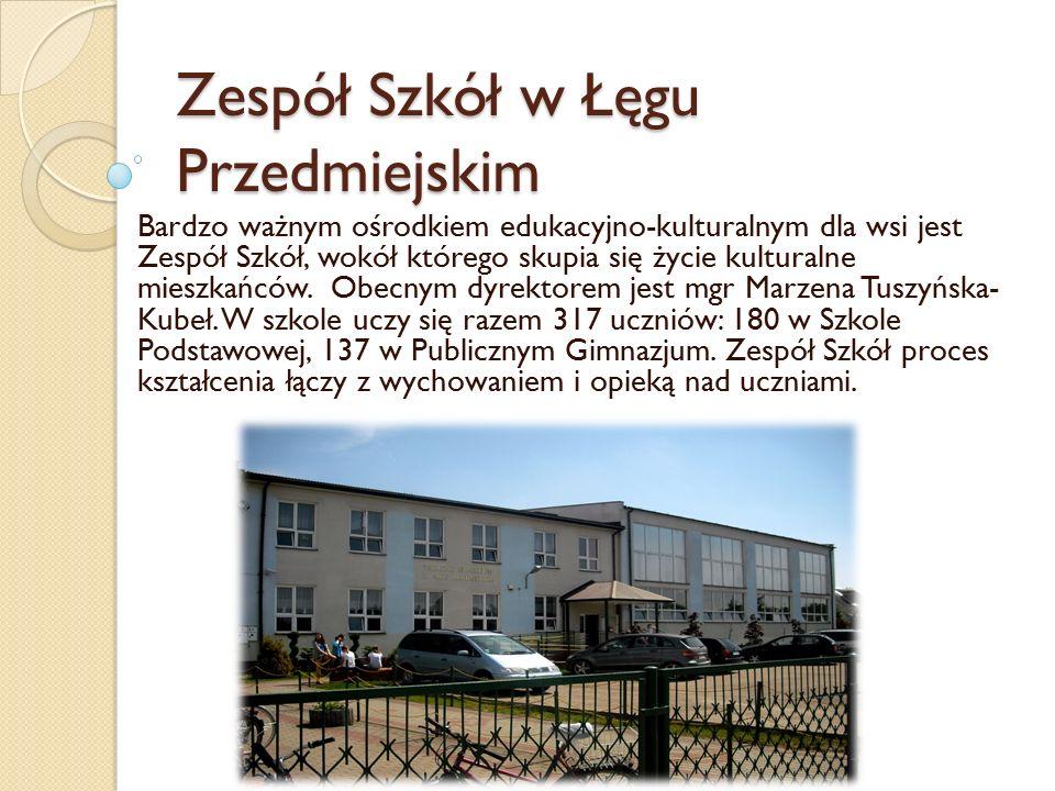 Zespół Szkół w Łęgu Przedmiejskim