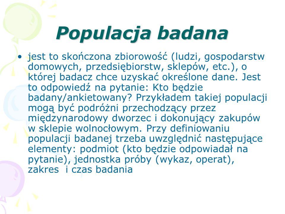 Populacja badana