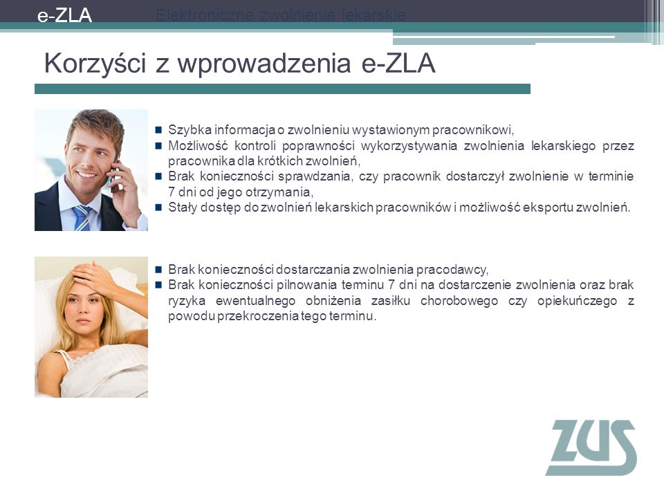 Korzyści z wprowadzenia e-ZLA