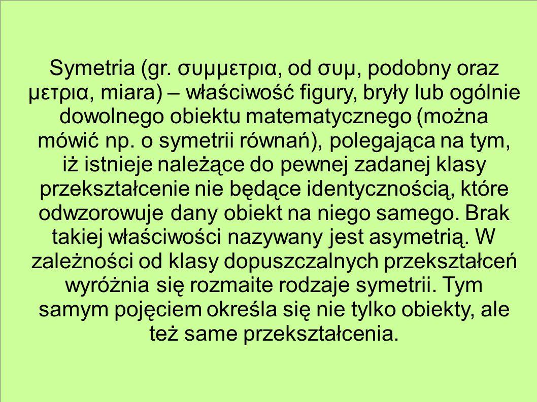 Symetria (gr.