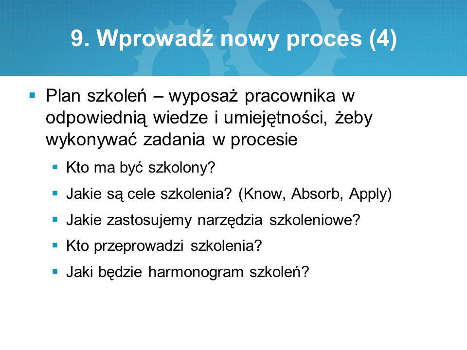 9. Wprowadź nowy proces (4)