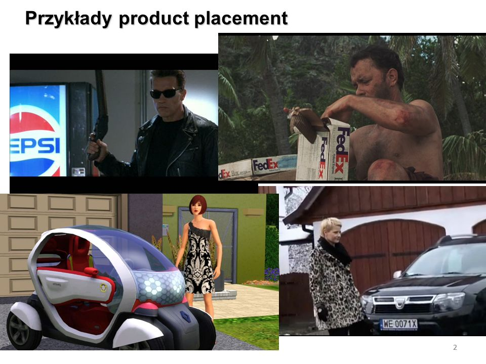 Przykłady product placement