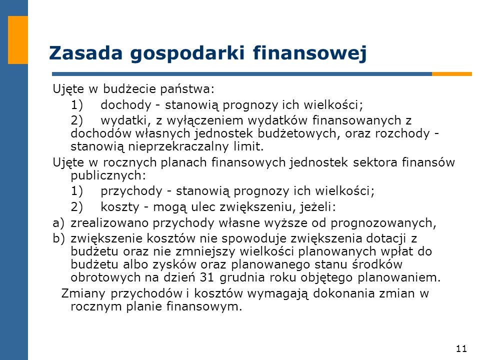 Zasada gospodarki finansowej