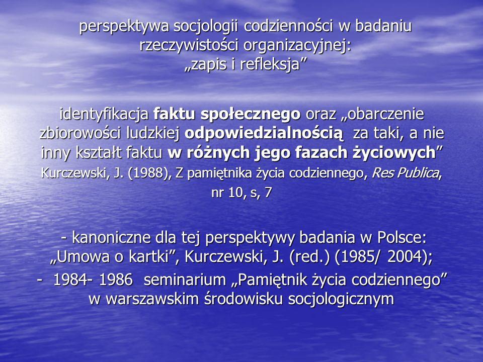 Kurczewski, J. (1988), Z pamiętnika życia codziennego, Res Publica,