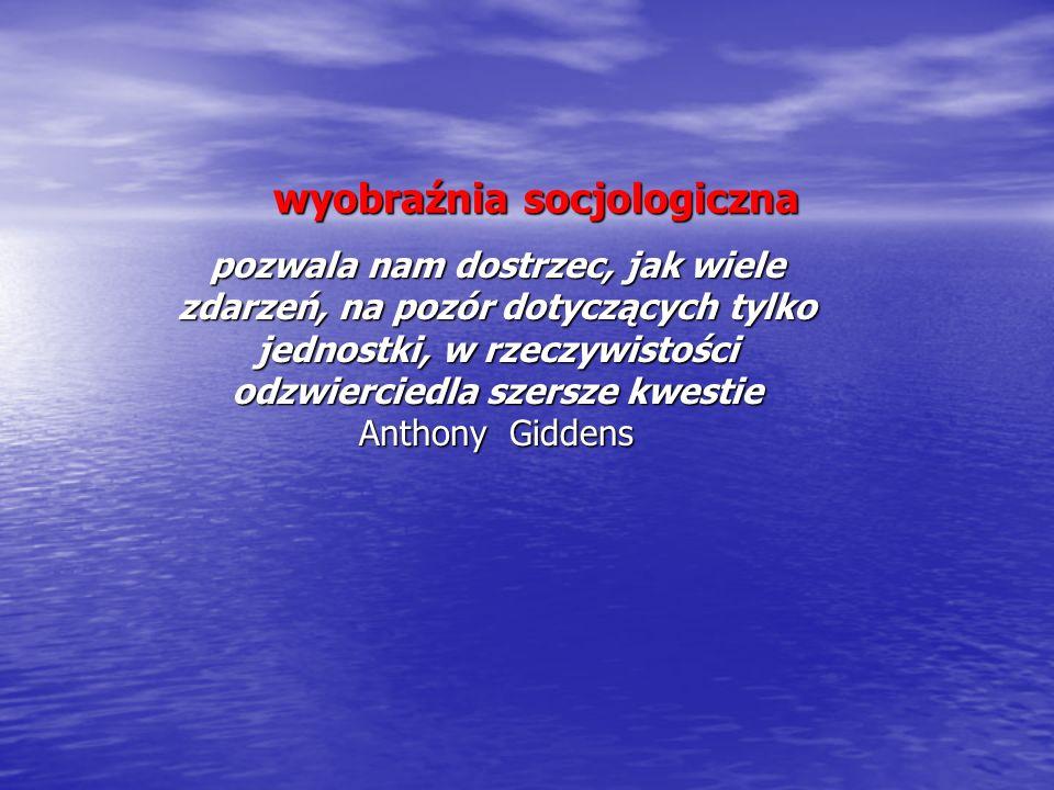 wyobraźnia socjologiczna