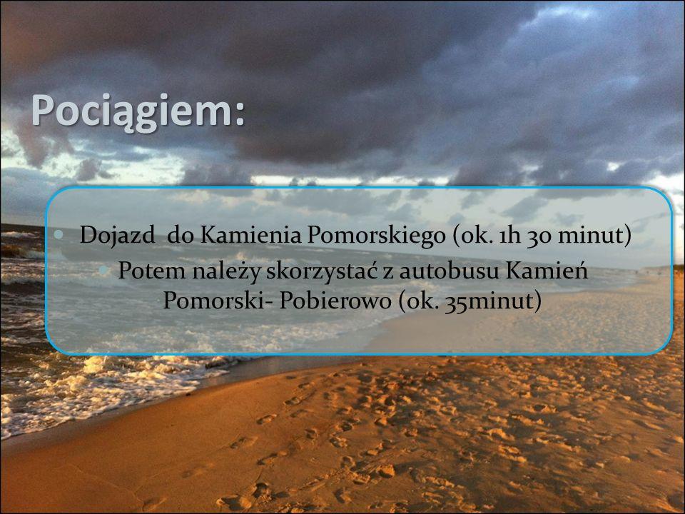 Dojazd do Kamienia Pomorskiego (ok. 1h 30 minut)