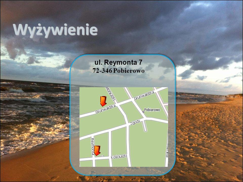 Wyżywienie ul. Reymonta 7 72-346 Pobierowo