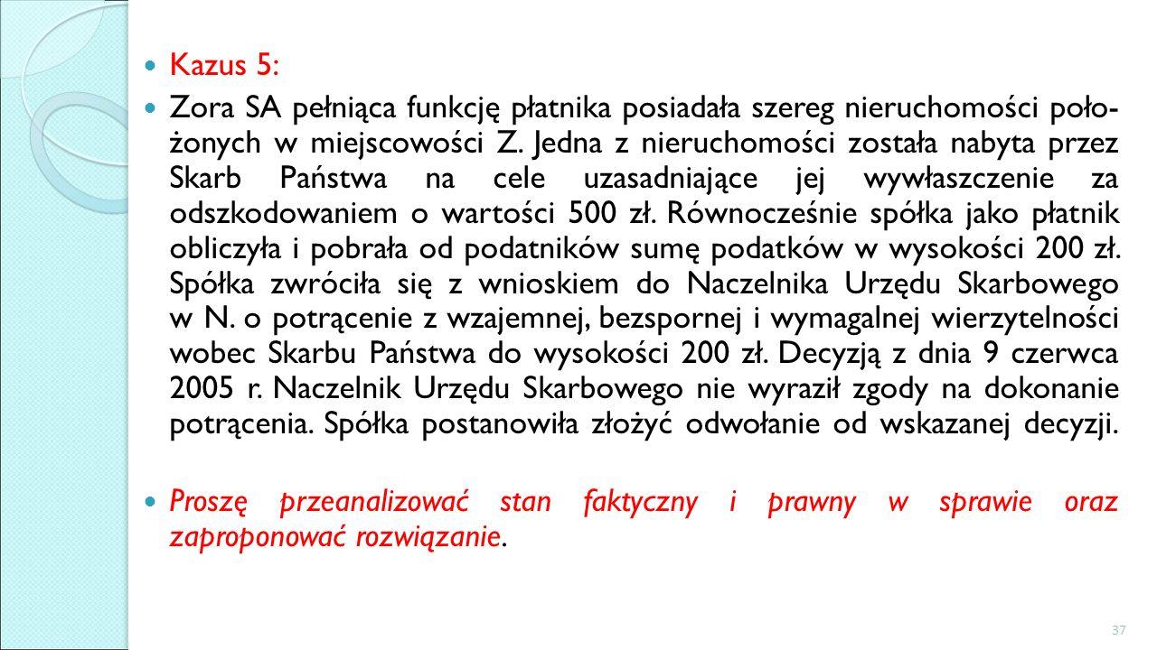 Kazus 5: