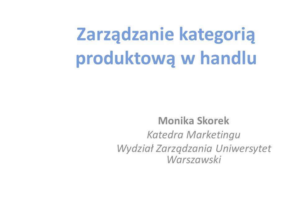 Zarządzanie kategorią produktową w handlu