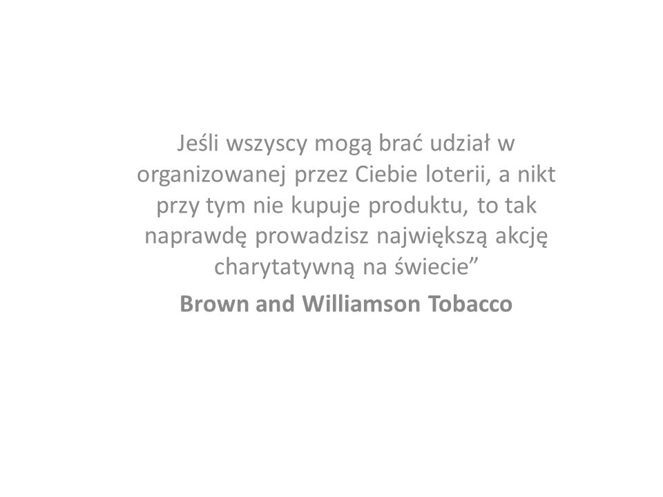 Brown and Williamson Tobacco
