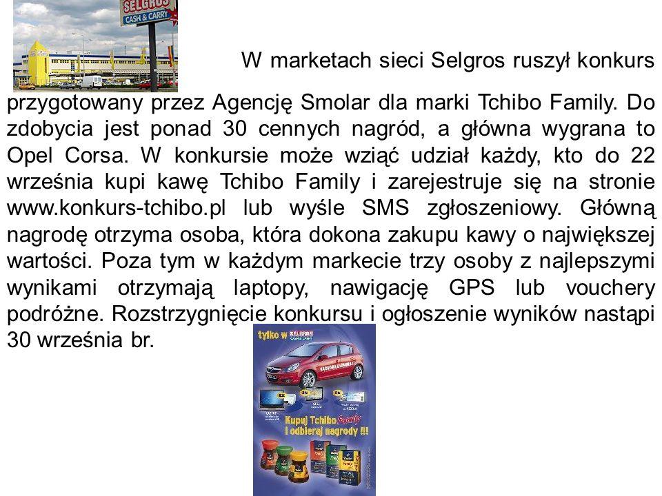 Selgros urządza konkurs dla Tchibo