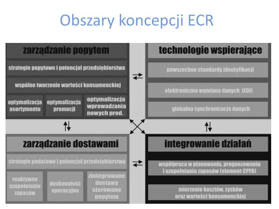Obszary koncepcji ECR