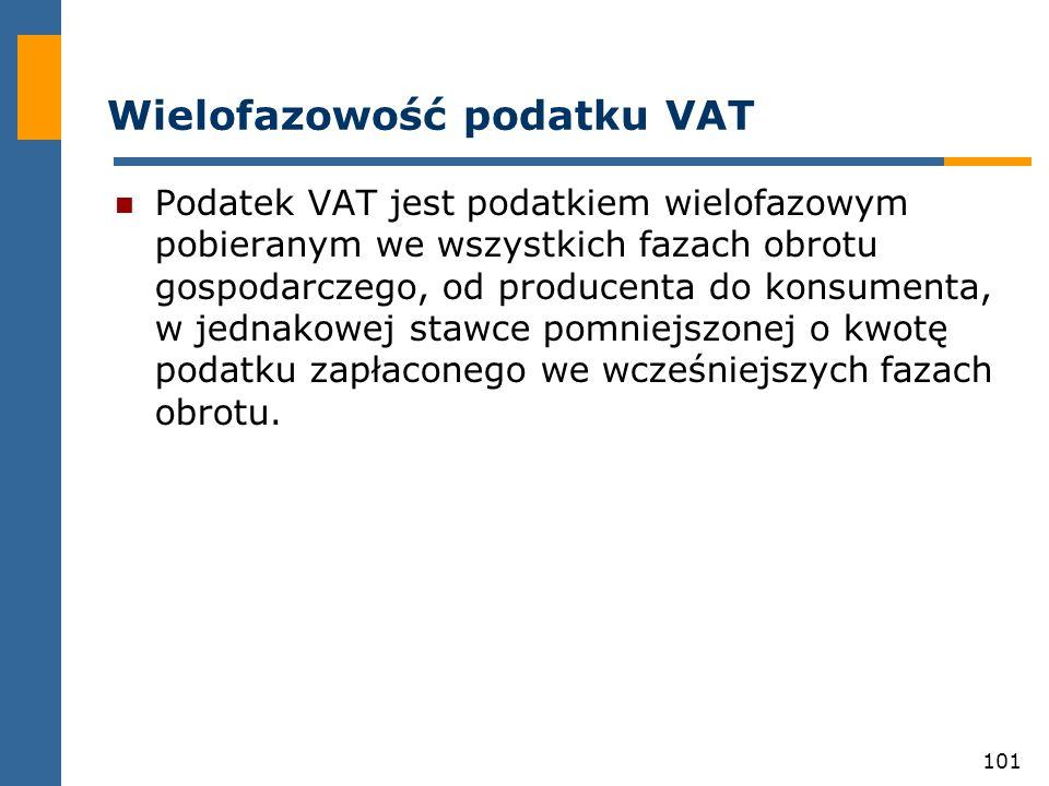 Wielofazowość podatku VAT