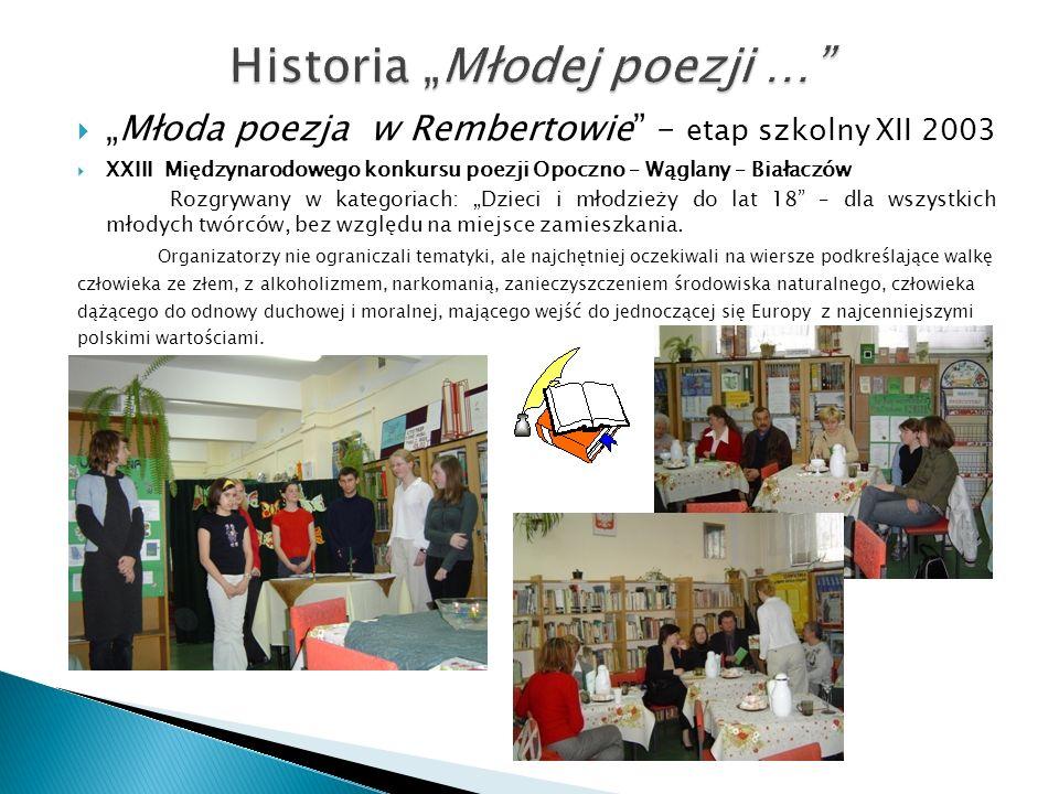 "Historia ""Młodej poezji …"