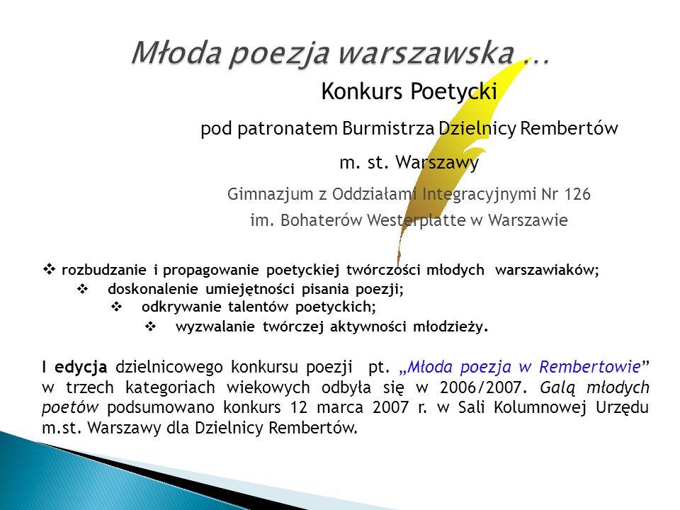 Młoda poezja warszawska …