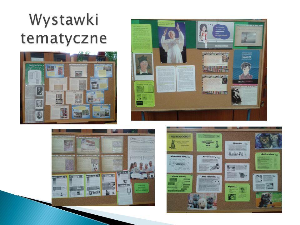 Wystawki tematyczne Materiały do wystawek i gazetek tematycznych dzięki Serwisowi Nowoczesnego Bibliotekarza.