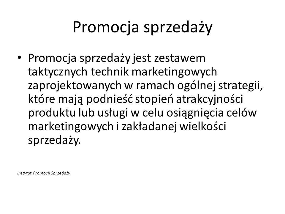 Promocja sprzedaży