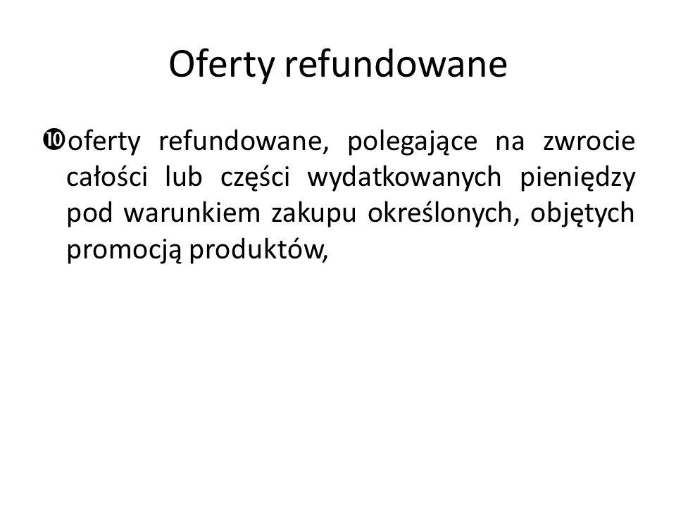 Oferty refundowane