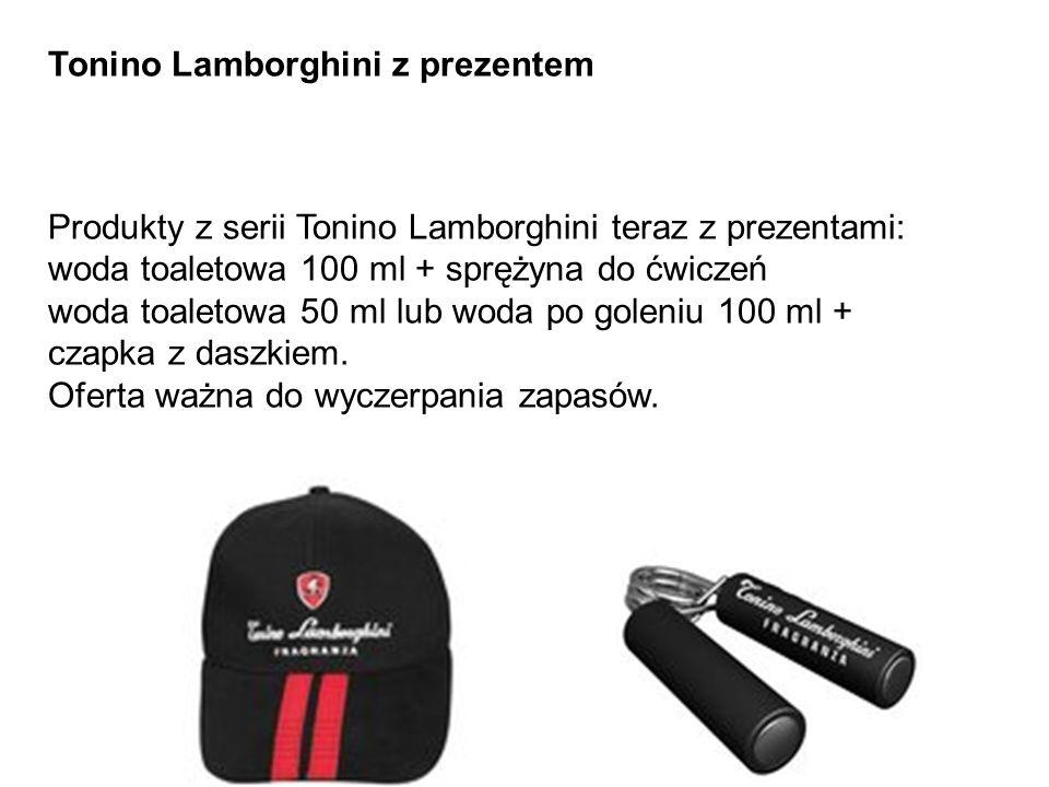 Tonino Lamborghini z prezentem